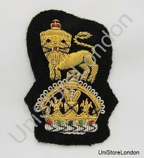 General Staff Officer  Cap Badge Kings Crown Black R1122