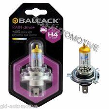 Lampadina alogena moto Rain H4 BALLACK +60% luce 12V 60/55W effetto Xenon Giallo