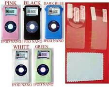 TOUGH SKIN COVER 5 COLORS LCD film IPOD NANO 2GB 4GB
