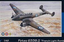 """AZUR A082 1:48 Potez 633B.2. """"French Light Bomber"""""""