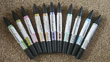 LETRASET  METALLIC PROMARKER PEN  Choose your colour WATER BASED Twin Tipped end