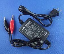 12 V 1250mA Volt Sealed Lead Acid Rechargeable Battery Power Charger 100V - 240V
