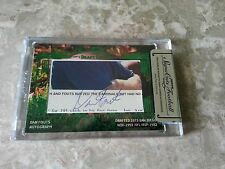 2014 Tristar Signa Cuts Draft Choice Cut Signature AUTO Green 03/10 Dan Fouts