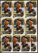ERIK GUSTAFSSON 10/11 ITG H&P Update RC Rookie Lot of (10) #159 Flyers Cards
