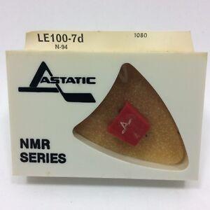 LENCO N-94, turntable NEEDLE for M94 cartridge IN ASTATIC PKG LE100-7D -NOS