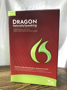 Nuance Dragon Naturally Speaking Professional Edition v12 Speech Recognition