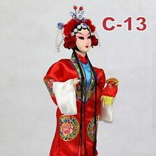 C-13 China Peking Oper chinesisch Puppe Figur Seide 31 cm Neu Geschenkidee OVP