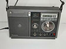 Panasonic RF-B300 Portable 6 band AM/FM/Short-wave Radio works 1983 Rare