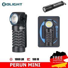 OLIGHT Perun Mini LED Stirnlampe 1000 Lumen, USB aufladbare Kopflampe+I3E