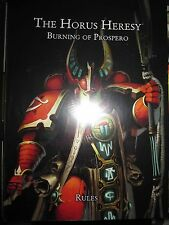 Horus Heresy The Burning of Prospero game Material no minatures