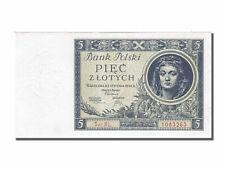 [#250974] Banknot, Polska, 5 Zlotych, 1930, 1930-01-02, UNC(65-70)