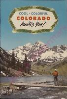 Vintage Travel Brochure Cool Colorful Colorado Invites You Top Vacation State