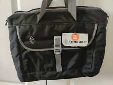 **FAST SHIP** NEW Timbuk2 Black Tote Bag Medium with padded Laptop inner sleeve