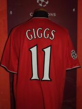 GIGGS 2000/2001 MANCHESTER UNITED MAGLIA SHIRT CALCIO FOOTBALL MAILLOT JERSEY