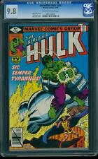 Incredible Hulk 242 CGC 9.8 OW/W Pages Bronze Age Marvel Comic I.G.K.C. L@@K