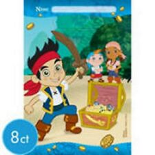 Disney Jake and the Never Land Pirates Birthday Party Treat Bags - 16pc