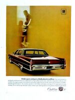 """1970 Cadillac Fleetwood Brougham Original Print Ad 8.5 x 11"""""""