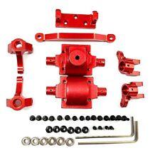Aliuminum Alloy Steering Hub Carrier Gear Box for 1:24 Rc Car Hbx 1/24 2098B Red