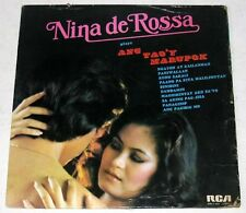Philippines NINA DE ROSSA Ang Tao'y Marupok OPM LP Record