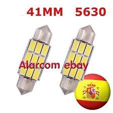 1 x bombillas 9 led 41mm C5W Festoon 5630 Canbus No Error #1018