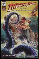 Indiana Jones and the Shrine of the Sea Devil One Shot Comic Gary Gianni art 1