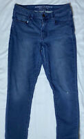 American Eagle Hi-Rise Super Super Stretch Jegging Jeans Size 8 Short Dark Wash