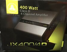 JL Audio JX400/4D 4 Ch. Class D Full-Range Car Audio Amplifier, 360 W