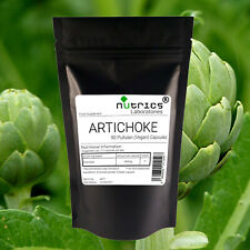 Nutrics® 100% Pure 400mg ARTICHOKE 90 Vegan Capsules LIVER SUPPORT DETOX&CLEANSE
