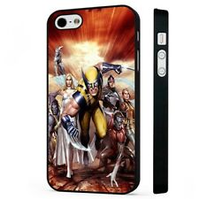 X Men Characters Wolverine Silver Surfer BLACK PHONE CASE COVER fits iPHONE