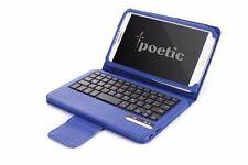 Poetic KeyBook【Bluetooth Keyboard】Case For Samsung Galaxy Tab 3 8.0 Tab Navy BU