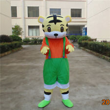 Tiger Mascot Costume Good Color Eyecatching Lovely King Of Mountain Forest Best