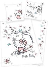 Herding Bettwäsche Hello Kitty, 80 x 80 cm 135 x 200 cm,