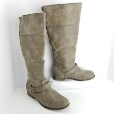 9ef6fe3ad2e Madden Girl Brown Women's Faux Leather Boots for sale | eBay