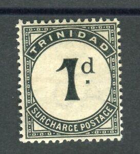 Trinidad & Tobago 1885 Postage Due 1d slate-black SG.D2 MH