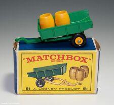Matchbox SERIES No.51 ANHÄNGER mit Karton 60er Jahre