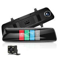 "AZDOME 4.3"" FHD 1080P Dash Cam Doppellinse Auto Videorecorder Nachtsicht DVR Cam"