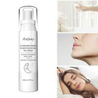 100ML Hemp essential oil lavender deep sleep pillow insomnia spray S6T3