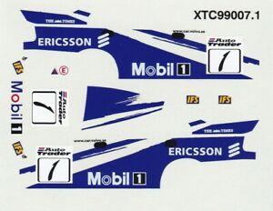 decals BTCC 1/43 - Volvo #1 1999 Rickard Rydell