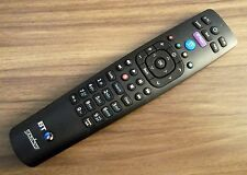 Genuine BT YouView Remote Control - Brand New & Sealed (Black Face) + Batteries