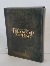 Lord of the Rings: Fellowship of the Ring Extended Dvd 2002 4-Disc Box Set