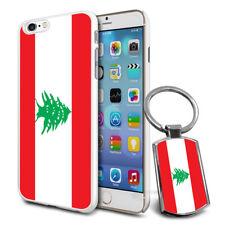 Lebanon Flag Hard Case Cover & Free Keyring For Various Mobiles