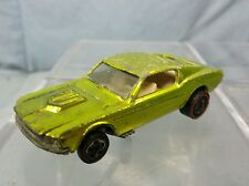Vintage Mattel Hot Wheels: Redline 1968 CUSTOM MUSTANG Antifreeze USA