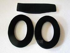 Ear Pad(Include Plastic Ring) For Sennheiser HD515 HD555 HD595 HD518 HD558 PC360