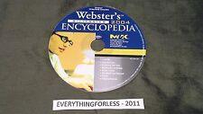 Webster's Millennium Encyclopedia 2004 Cd - Rom Usa Seller!