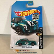 Porsche 356A Outlaw #325 * Green * 2017 Hot Wheels FACTORY SET Edition * B40