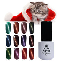 5ml Magnetic Cat Eye Soak Off Nail UV LED Gel Polish Varnish Salon Born Pretty