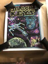 THE BLACK KEYS portland Poster EMEK Star Wars Themed Print 11-22-2019 Signed