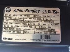 Allen Bradley MPL-B330P-MK72AA Servo  Motor