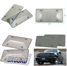 Tinted Smoked Tag License Plate Shield Cover and Frame Truck Car 31*16cm/12x6