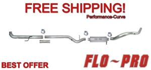 """5"""" Stainless Exhaust System Flo-Pro SS601 Fits 01-07 Chevrolet GMC Duramax 6.6L"""